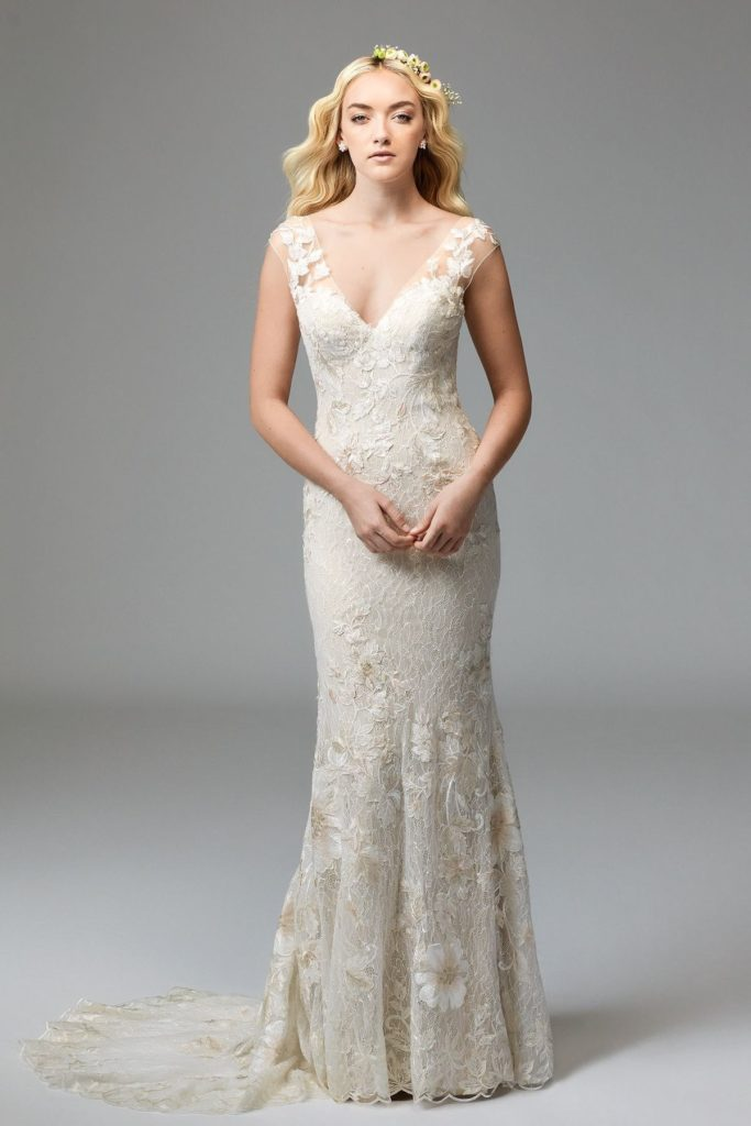 Willowby Doyle gown - The Blushing Bride boutique in Frisco, Texas