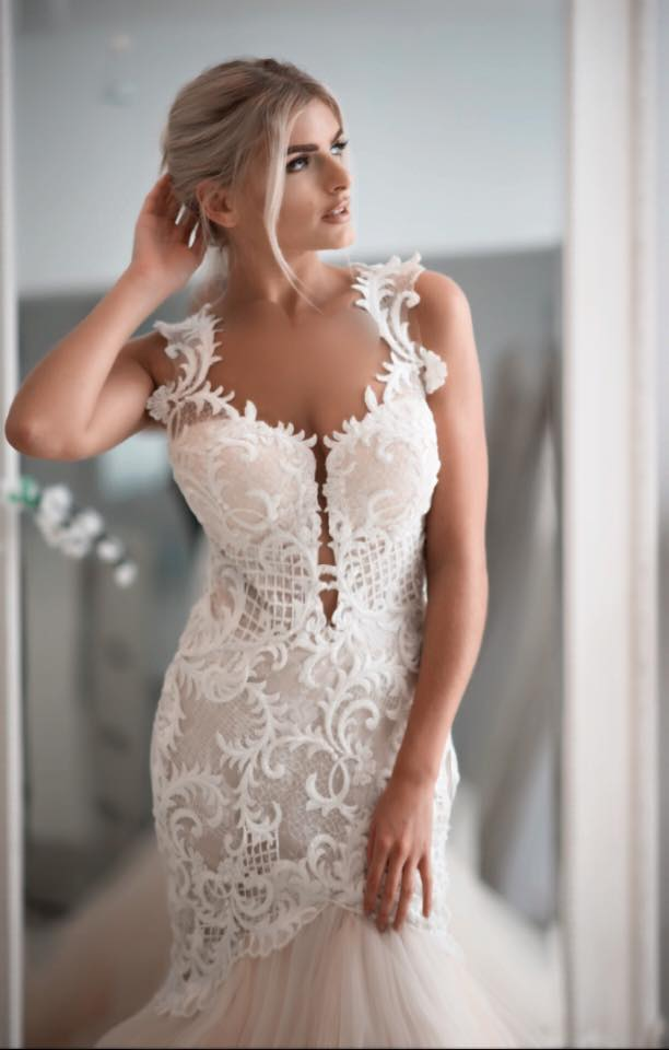 Angelic by Naama and Anat Couture available at The Blushing Bride boutique in Frisco, Texas