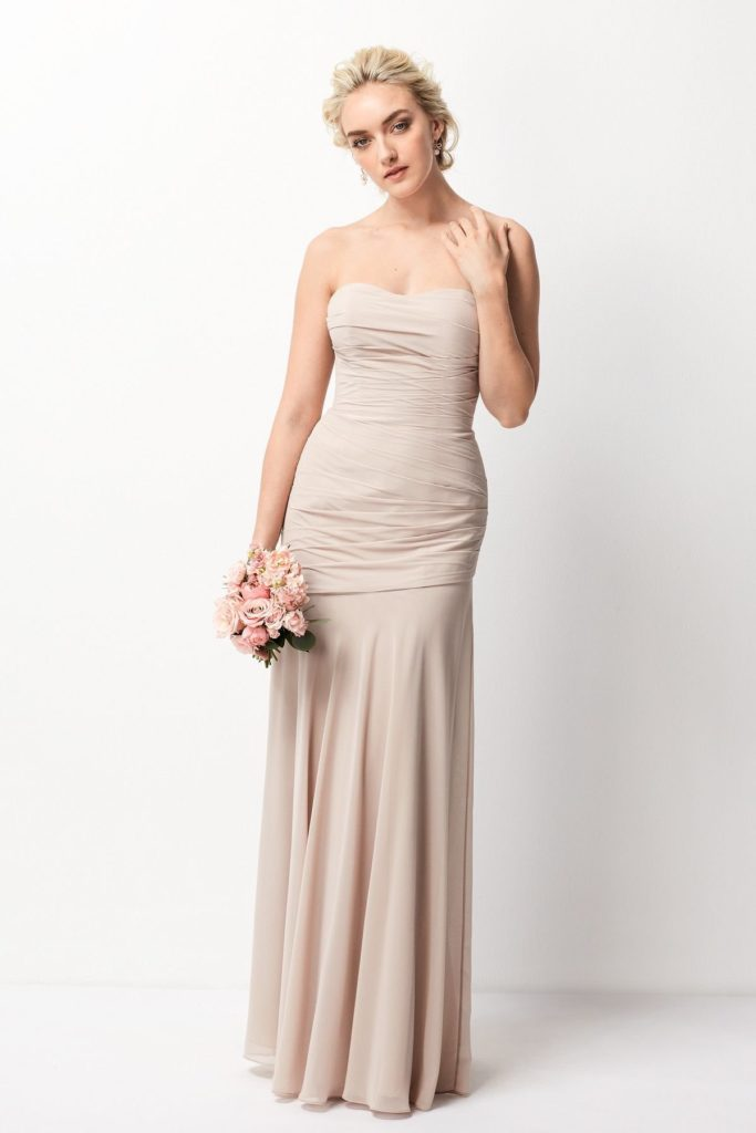 208 strapless Wtoo Bridesmaids Fall 2016
