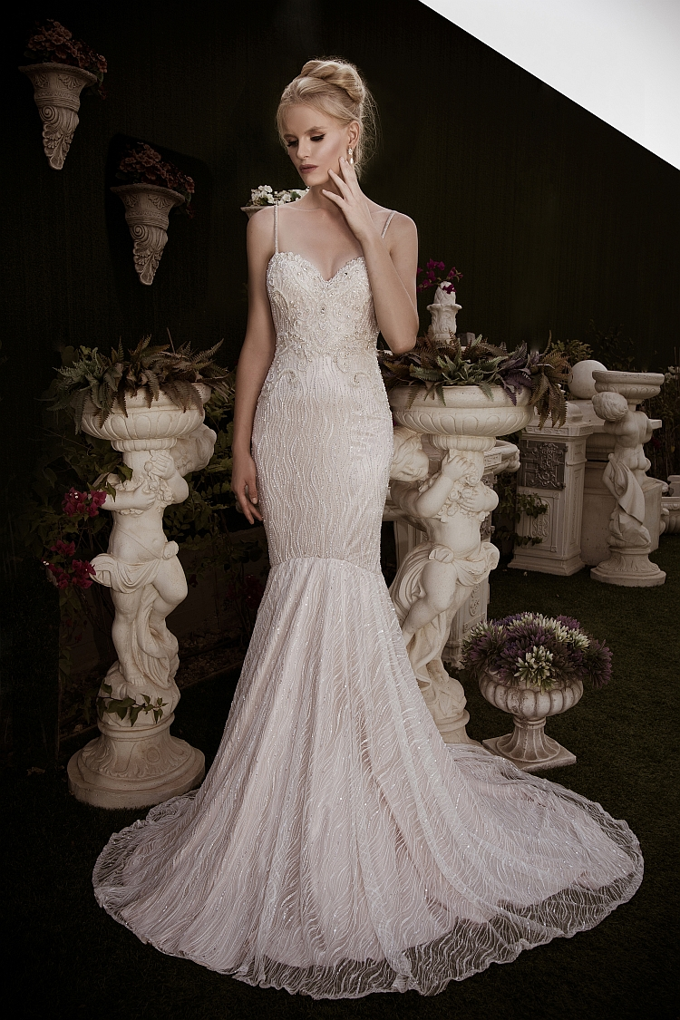Naama and Anat Couture Wedding Gowns Exclusively seen in Texas only here at The Blushing Bride boutique in Frisco, Texas