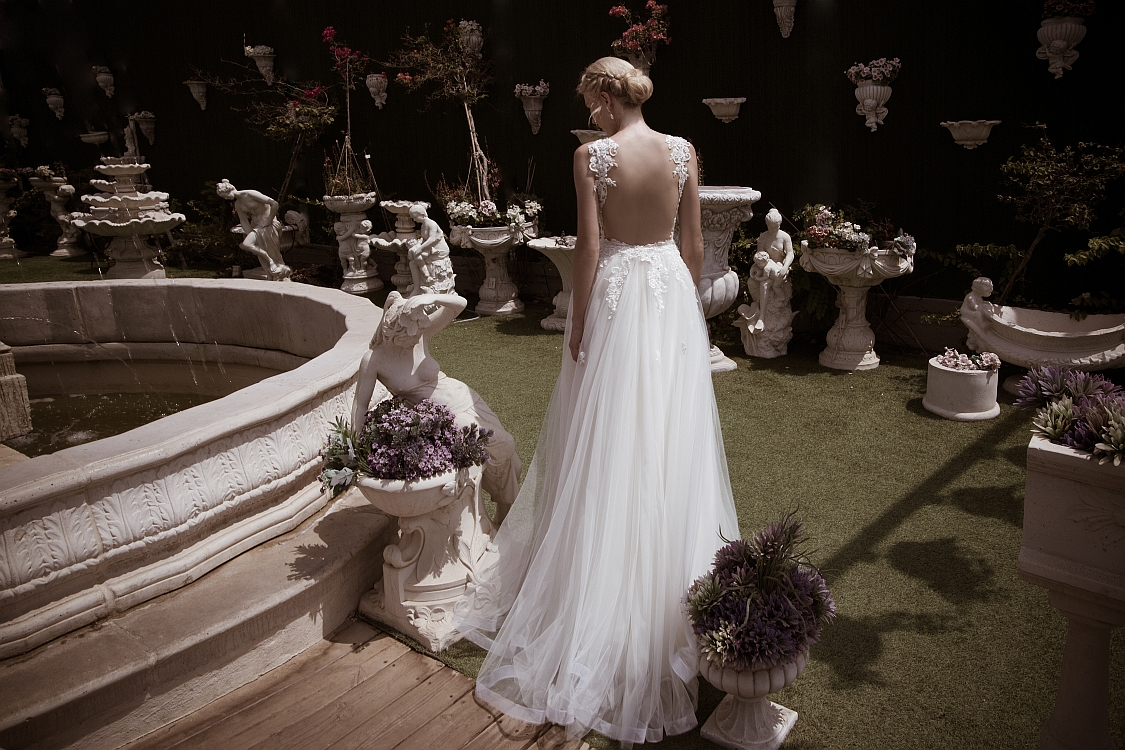 Naama and Anat Couture Wedding Gowns available at The Blushing Bride boutique in Frisco, Texas