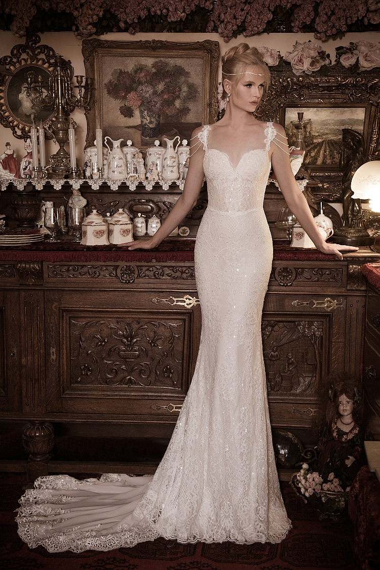 Naama and Anat Nobility Couture Wedding Gown available at The Blushing Bride boutique in Frisco, Texas