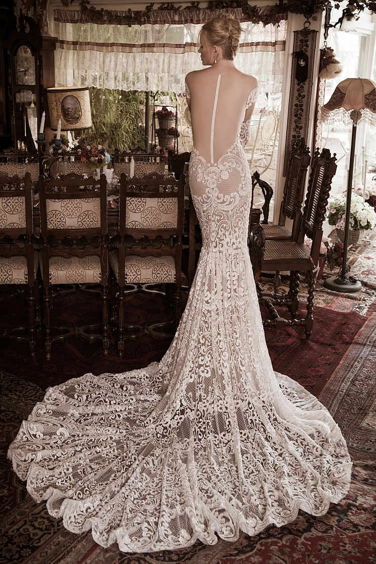 Naama and Anat Superior Couture Wedding Gown available at The Blushing Bride boutique in Frisco, Texas