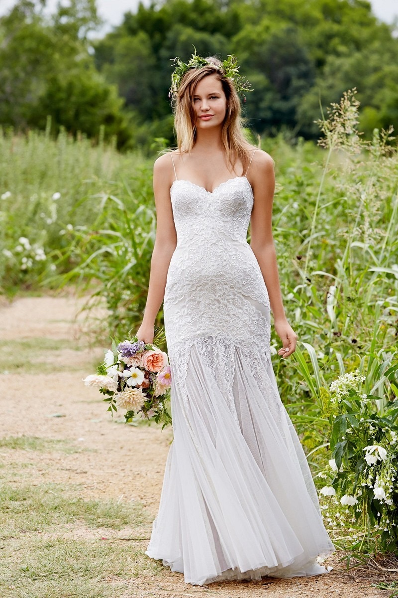 Wren by Willowby wedding gowns available at The Blushing Bride boutique in Frisco, Texas