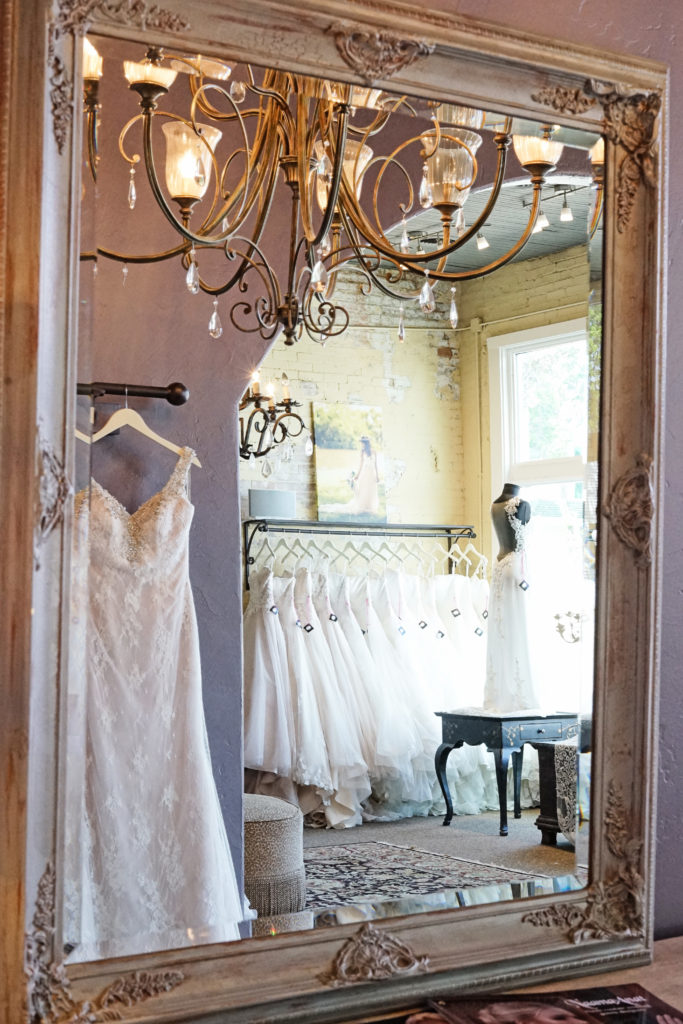 The Blushing Bride boutique is located in Frisco, Texas and caters to our local Dallas Fort Worth Brides, Bridesmaids, Mother of the Bride and Mother of the Groom, as well as Tux and Suit Rentals.