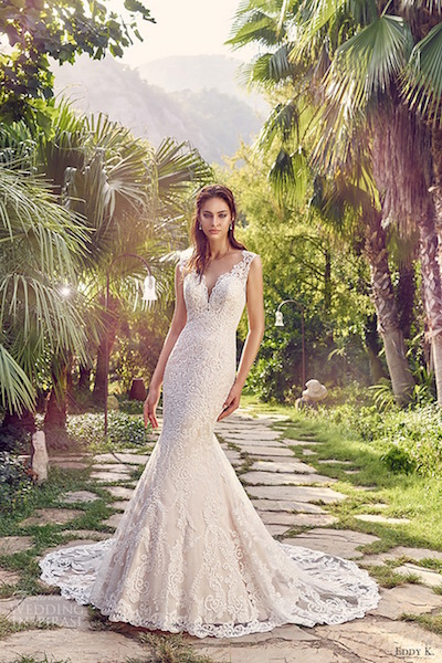 Eddy K Dreams Marina Wedding Gown at The Blushing Bride boutique in Frisco, Texas
