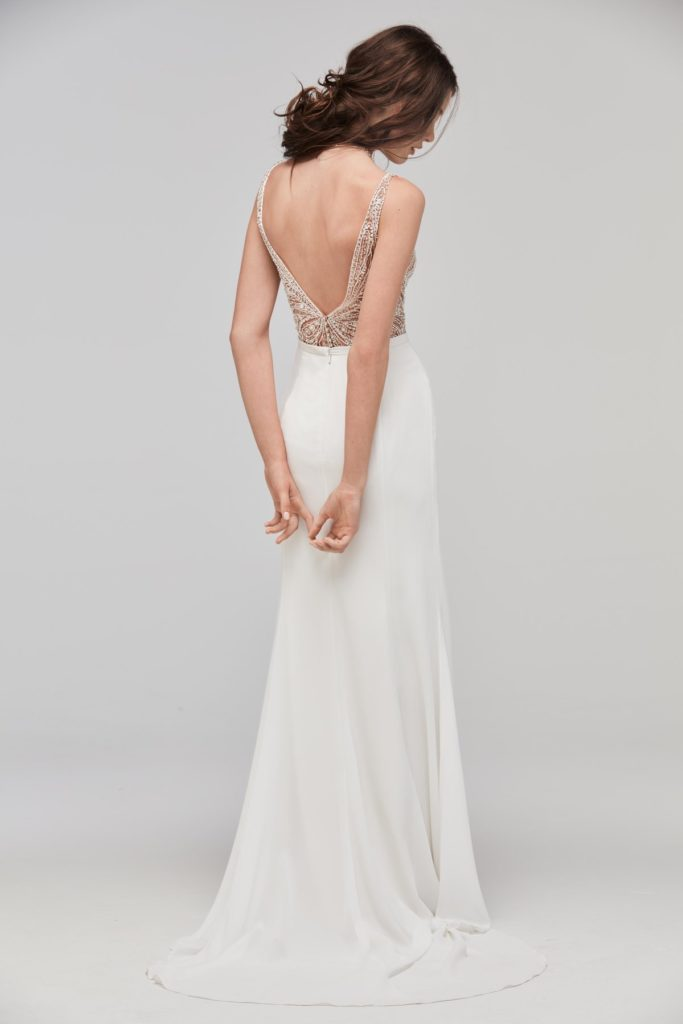 Willowby Fladdra Bodysuit 59601 - The Blushing Bride boutique in Frisco, Texas