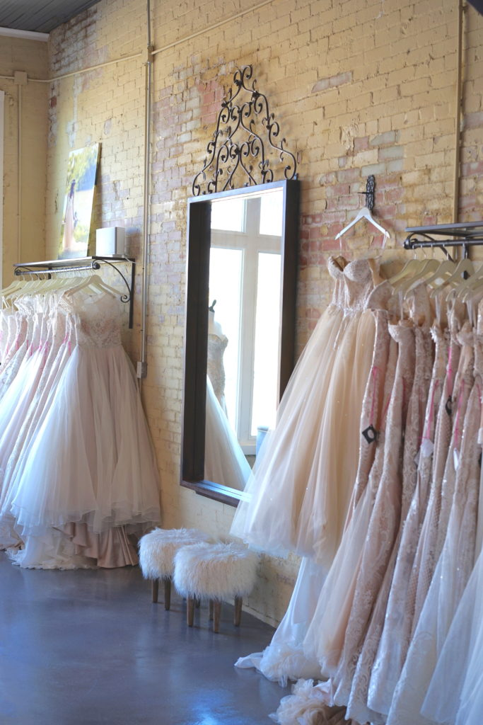 Dallas Bridal Boutique - The Blushing Bride boutique in Frisco, Texas