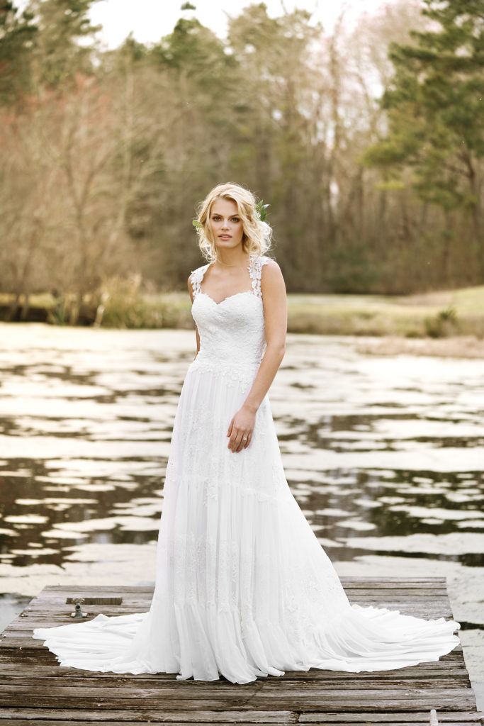 Lillian West Style 6447 at The Blushing Bride boutique in Frisco, Texas