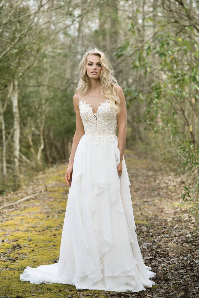 Lillian West Style 6449 at The Blushing Bride boutique in Frisco, Texas