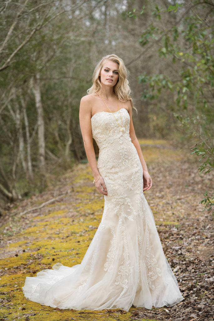 Lillian West Style 6450 at The Blushing Bride boutique in Frisco, Texas