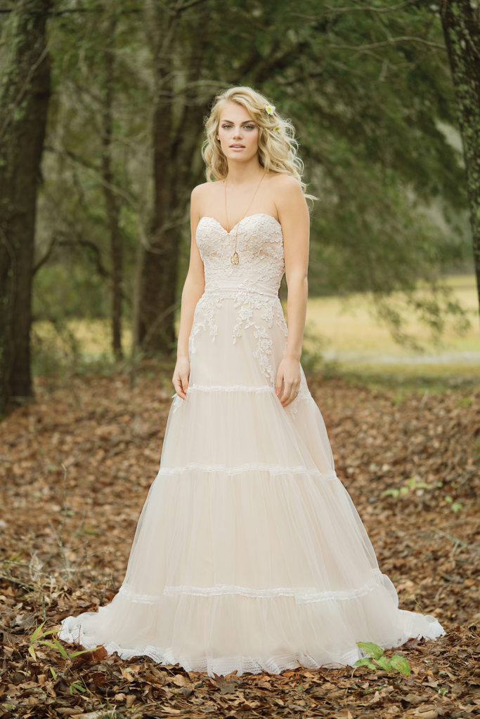 Lillian West Style 6451 at The Blushing Bride Boutique in Frisco, Texas