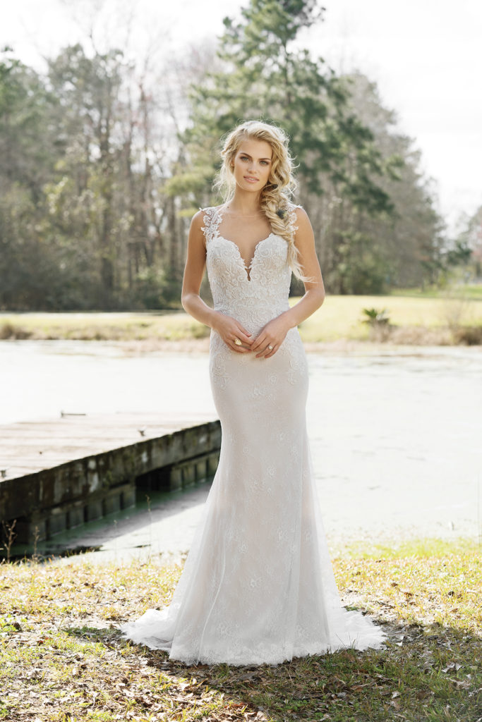 Lillian West Style 6452 at The Blushing Bride boutique in Frisco, Texas