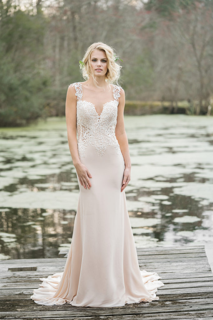 Lillian West Style 6454 at The Blushing Bride boutique in Frisco, Texas