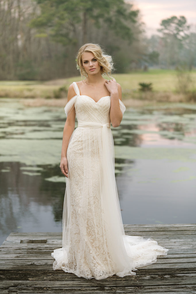 Lillian West Style 6455 at The Blushing Bride boutique in Frisco, Texas