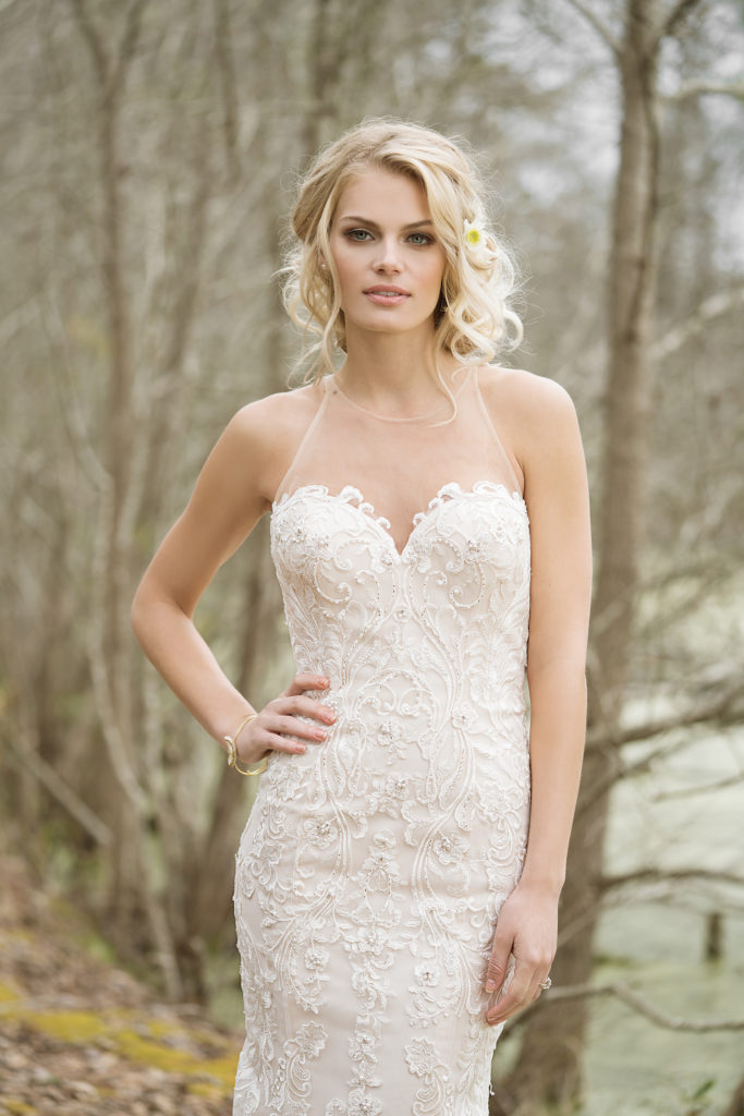 Lillian West 6456 - The Blushing Bride Boutique in Frisco, Texas