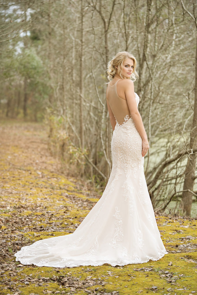 Lillian West Style 6456 at The Blushing Bride boutique in Frisco, Texas