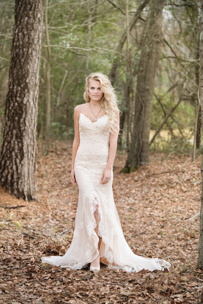 Lillian West at The Blushing Bride boutique in Frisco, Texas