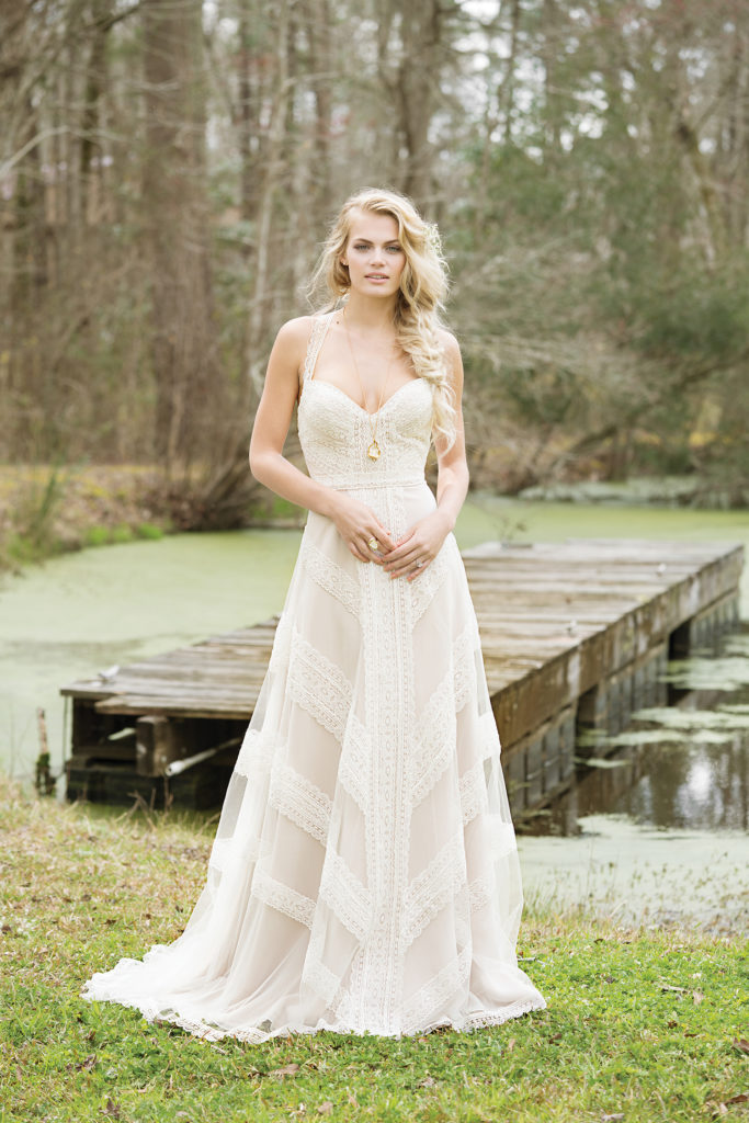 Lillian West 6468 - The Blushing Bride boutique in Frisco, Texas