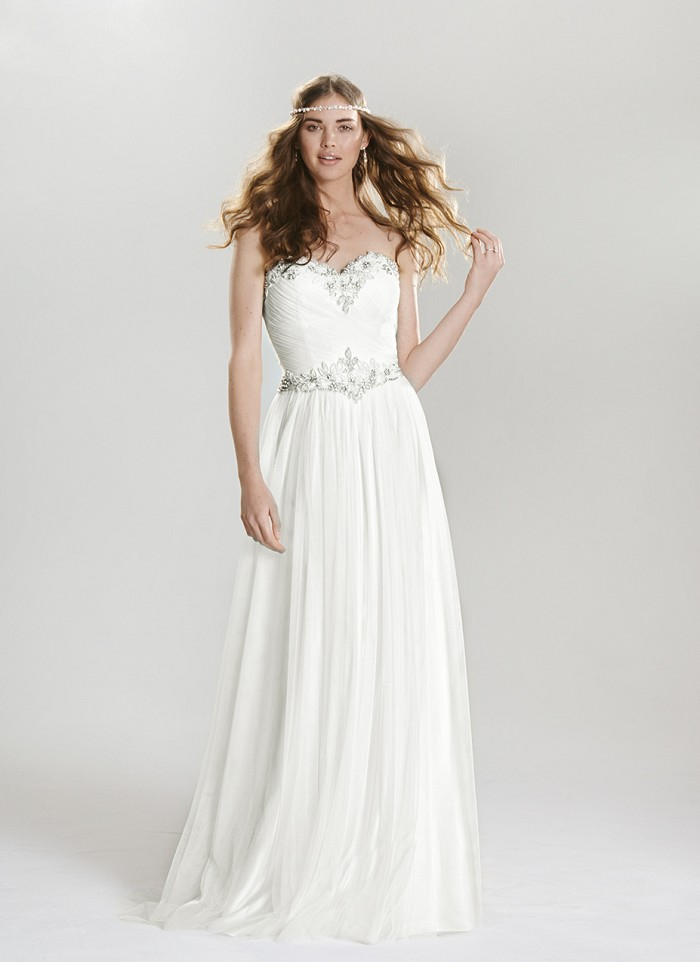 Lillian West 6411 - The Blushing Bride Boutique / Off the Rack