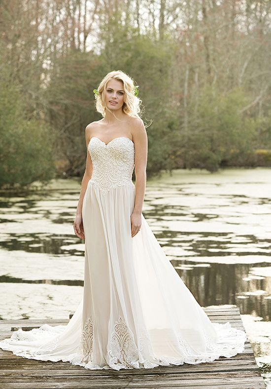 Lillian West 6469 - The Blushing Bride boutique in Frisco, Texas