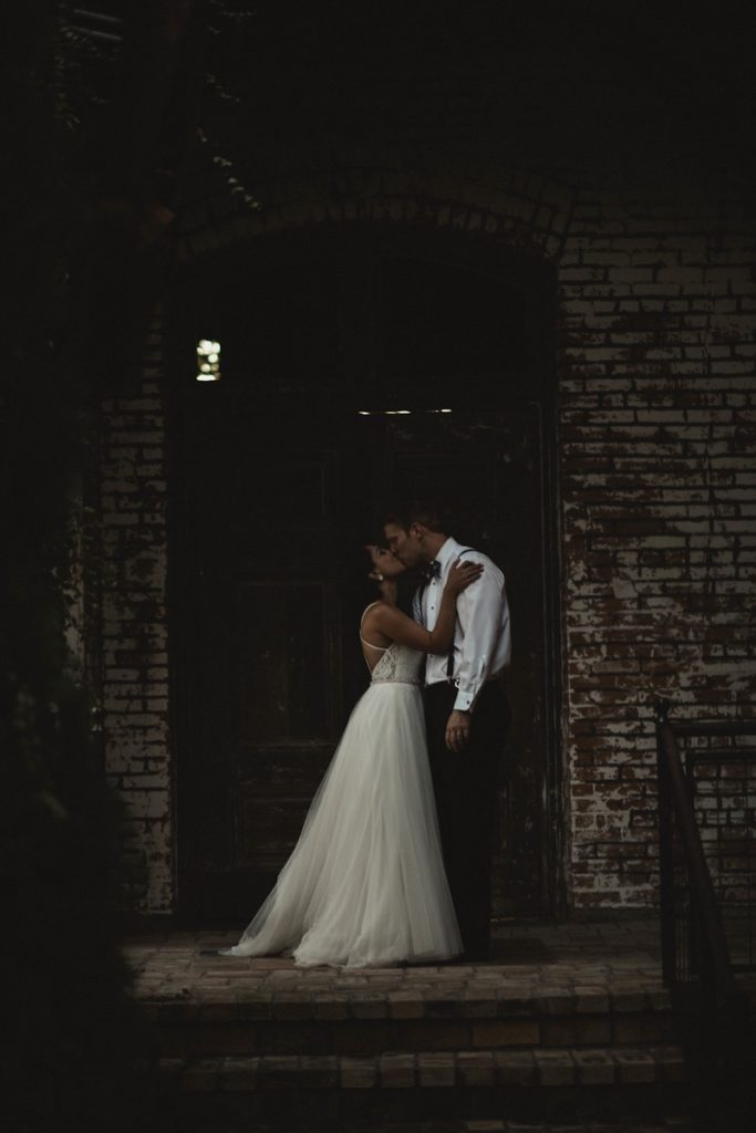 Ahou + Matt - Real Blushing Bride Wedding The Cotton Mill Mckinney