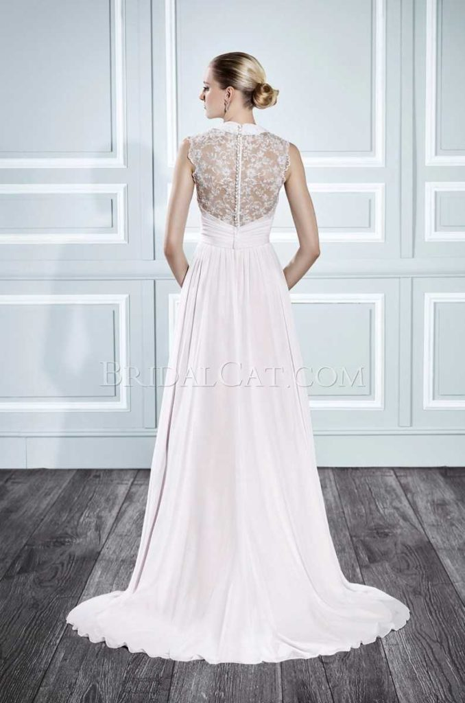 Moonlight T696 Back at The Blushing Bride Boutique / Off the Rack