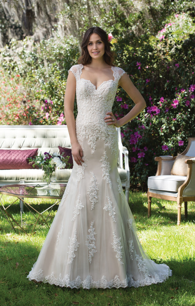 Sincerity Bridal 3962 - The Blushing Bride boutique in Frisco, Texas