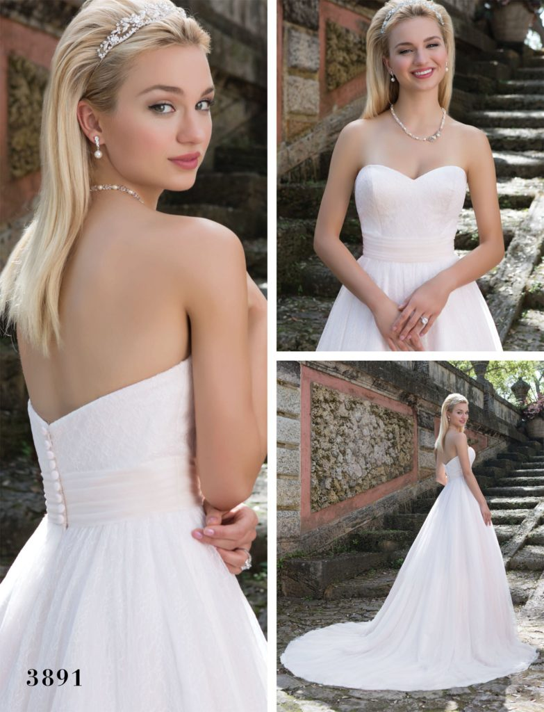 Sincerity Bridal 3891 - The Blushing Bride Boutique / Off the Rack