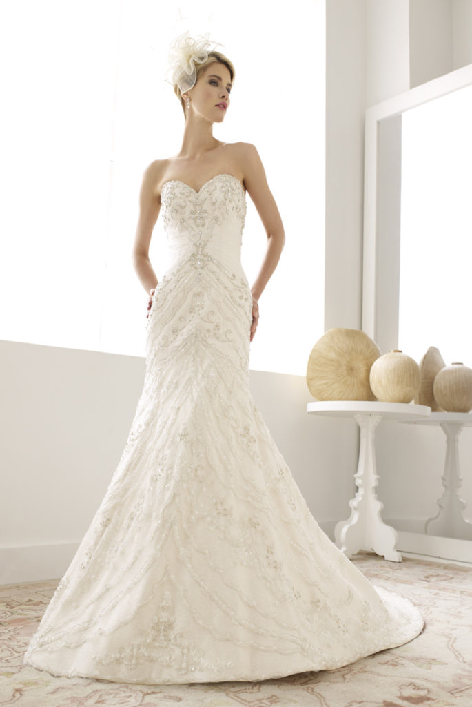 Val Stefani D8038 Off the Rack Bridal - The Blushing Bride boutique in Frisco, Texas