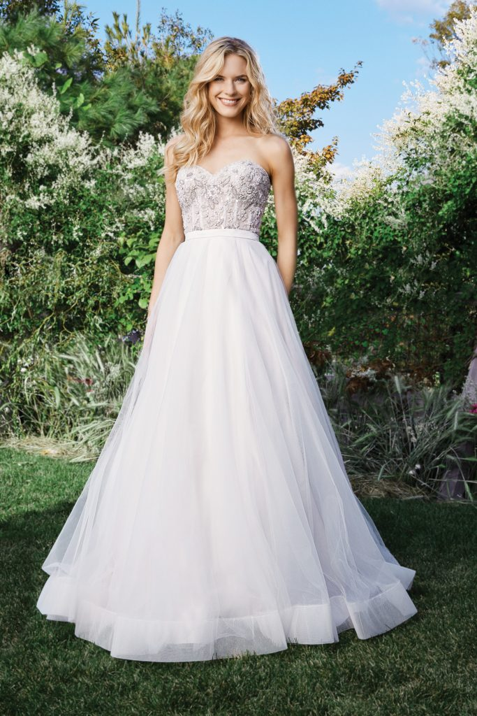 Lillian West Style 6442 Wedding Gown available at The Blushing Bride boutique in Frisco, Texas