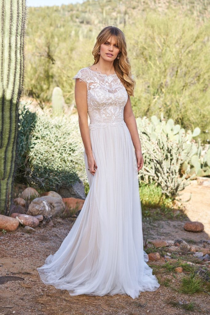 Lillian West 6514 - The Blushing Bride boutique in Frisco, Texas