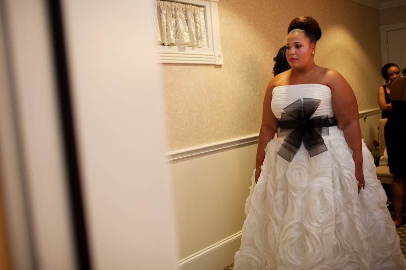 The Plus Size Wedding Dress Hunt The Blushing Bride Boutique