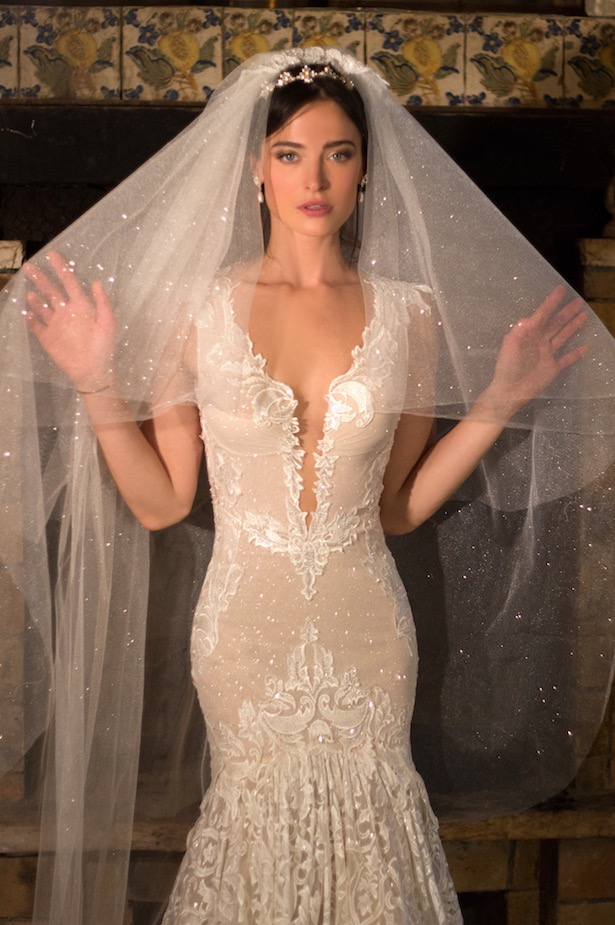 Naama and Anat Desire Couture Wedding Gown at The Blushing Bride boutique in Frisco, Texas
