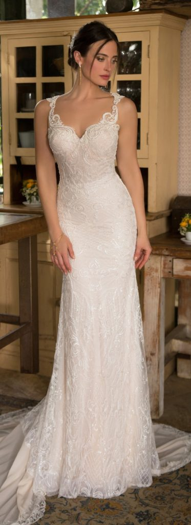 Naama and Anat Sparkle Couture Wedding Gown - The Blushing Bride boutique, Frisco, Texas