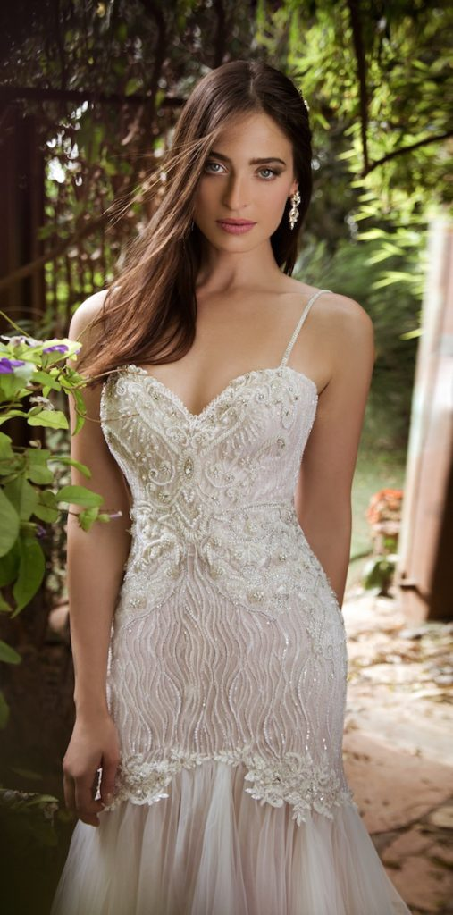 Naama and Anat Treasure Couture wedding gown - The Blushing Bride boutique in Frisco, Texas