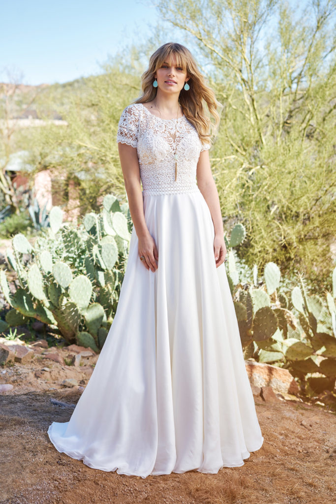 Lillian West 6508 - The Blushing Bride boutique in Frisco, Texas