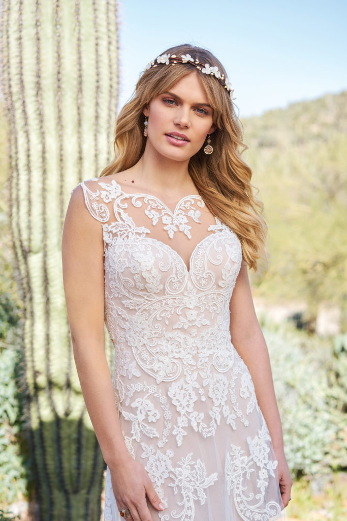 Lillian West 6512 - The Blushing Bride boutique in Frisco, Texas