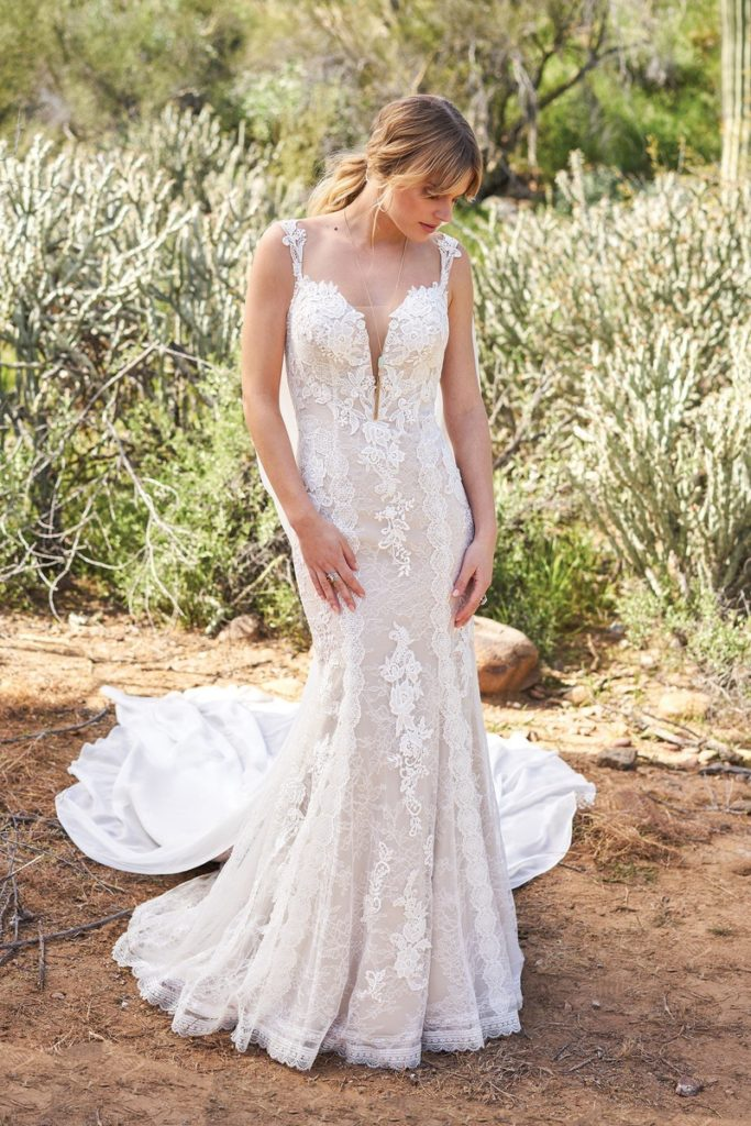 Lillian West 6505 - The Blushing Bride boutique in Frisco, Texas