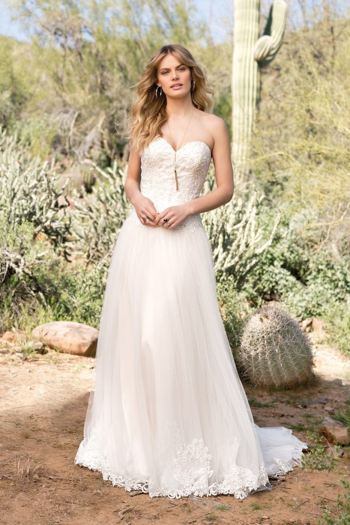 Lillian West 6526 - The Blushing Bride boutique in Frisco, Texas