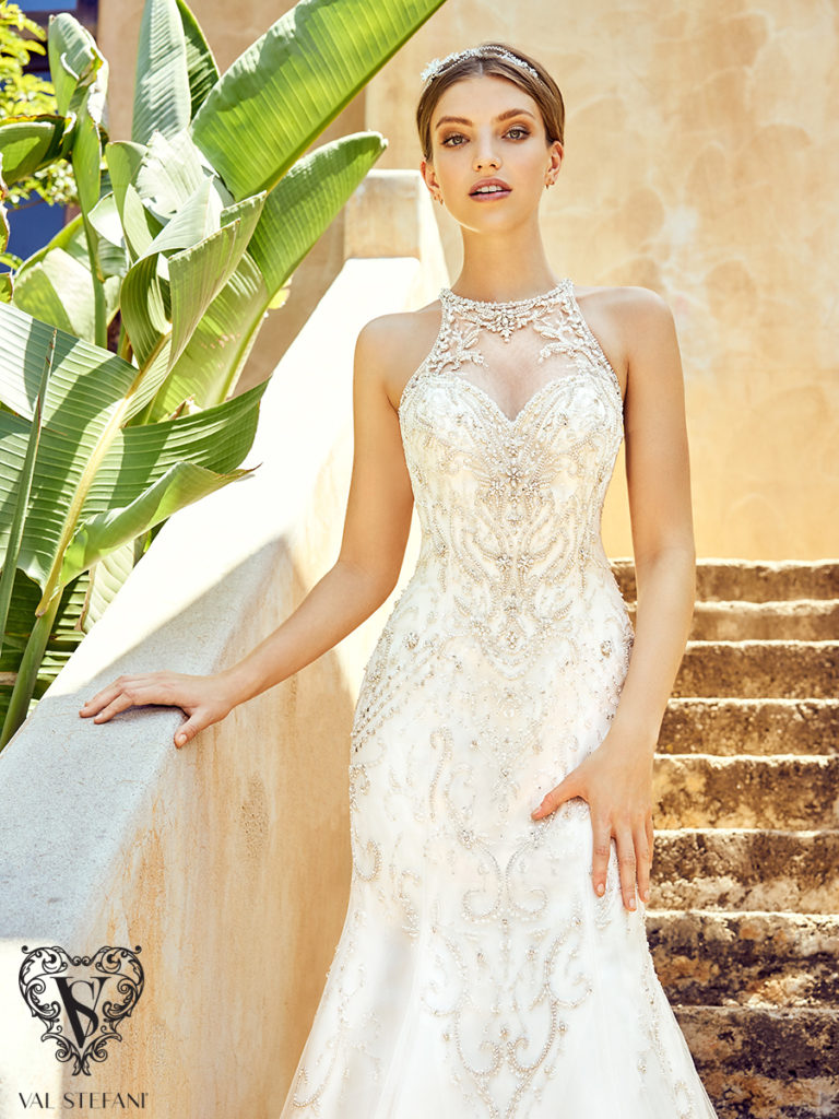 Val Stefani Couture D8148 - The Blushing Bride boutique in Frisco, Texas