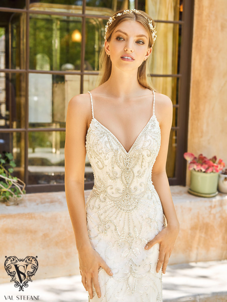 Val Stefani Couture D8150 - The Blushing Bride boutique in Frisco, Texas