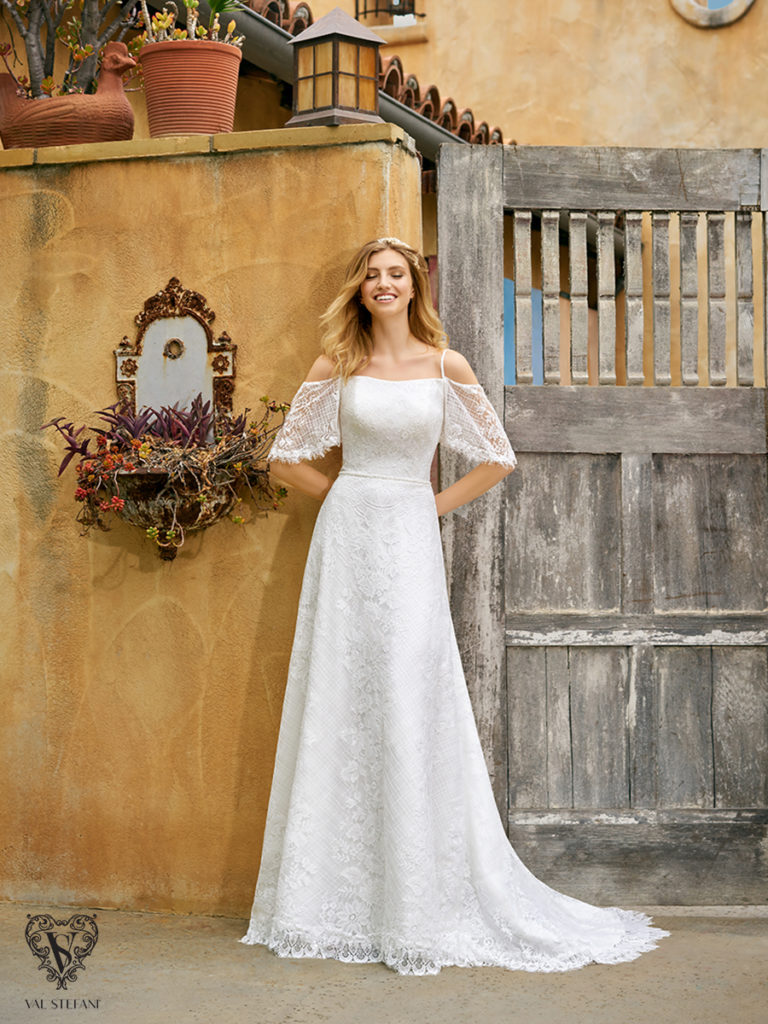 Val Stefani S2074 - The Blushing Bride boutique in Frisco, Texas