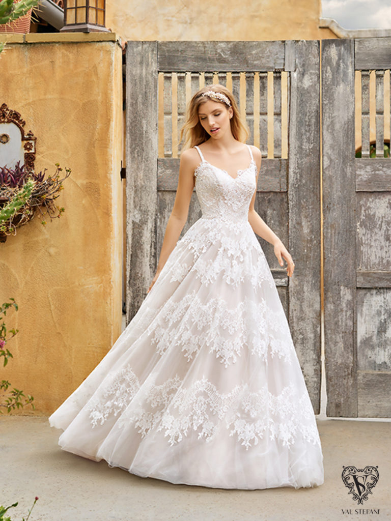 Val Stefani S2075 - The Blushing Bride boutique in Frisco, Texas