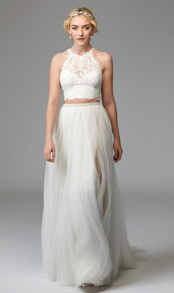 Willowby Bridal Separates available at the Blushing Bride boutique in Frisco, Texas