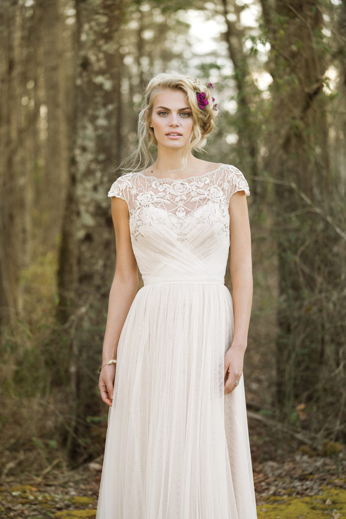 Boho chic wedding dresses the blushing bride boutique texas lillian west 6470 the blushing bride boutique in frisco junglespirit Image collections