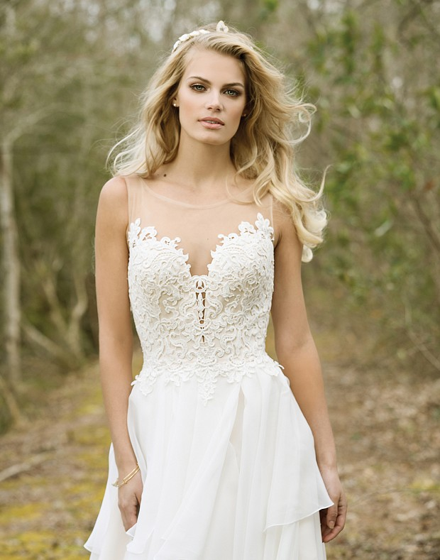 Lillian West 6449 - The Blushing Bride boutique in Frisco, Texas