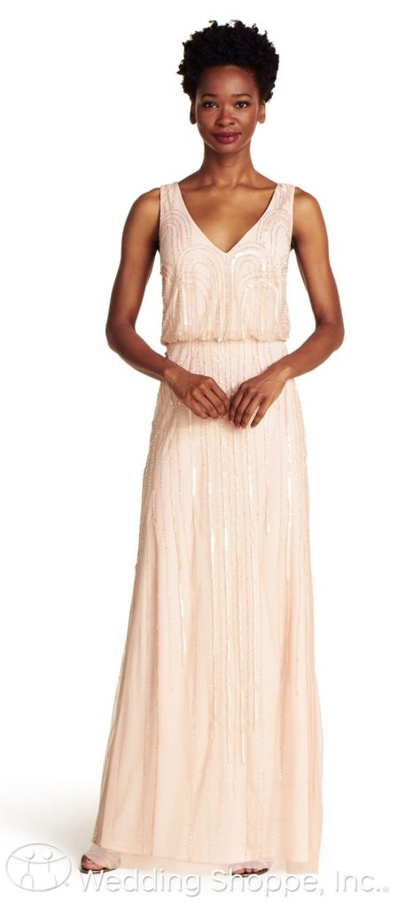 adrianna-papell-091900120-blush Off the Rack / Bridesmaids / Special Occasion