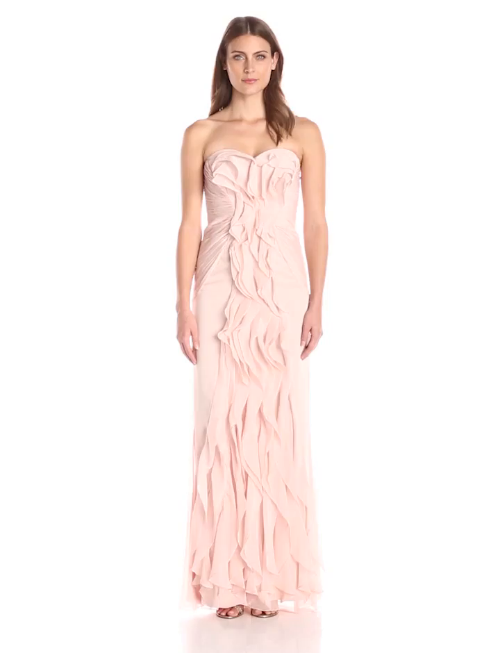 adrianna-papell-09g890350-blush Off the Rack / Bridesmaids / Mother of the Bride / Special Occasion