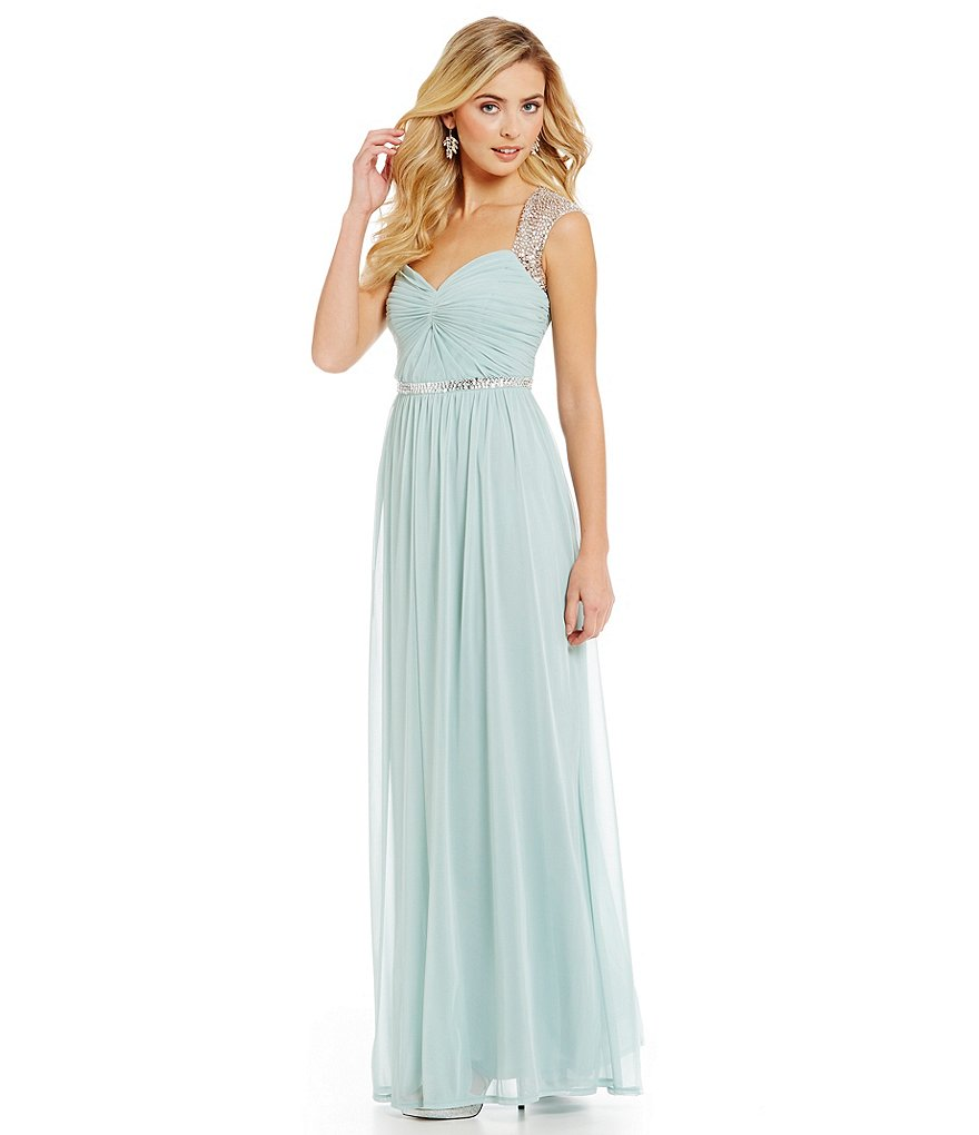 Special occasion gowns off the rack the blushing bride boutique adrianna papell 191919390 seafoam off the rack special occasion bridesmaids dress ombrellifo Gallery